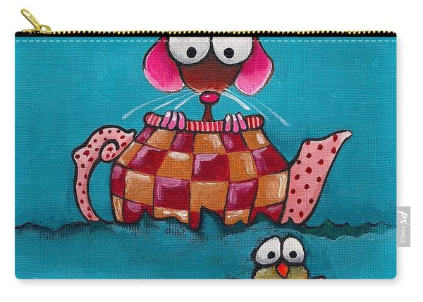 Sailing In A Teapot Carry-all Pouch
