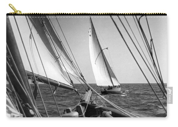 Sailing In Los Angeles Regatta Carry-all Pouch