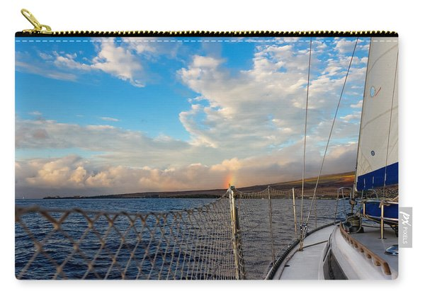 Sailing Lahaina Bay Carry-all Pouch