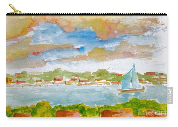 Sailing On The River Carry-all Pouch