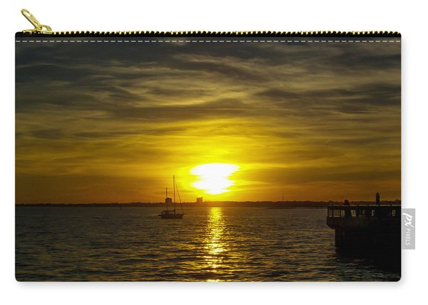 Sailing The Sunset Carry-all Pouch
