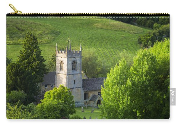Carry-all Pouch featuring the photograph Saint Andrews - Cotswolds by Brian Jannsen