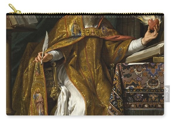 Saint Augustine Carry-all Pouch