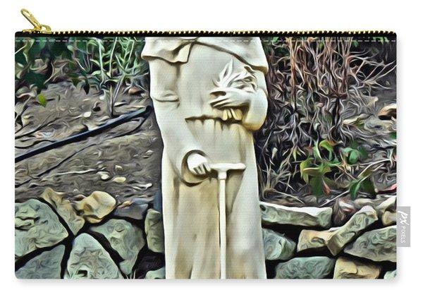 Saint Fiacre Carry-all Pouch