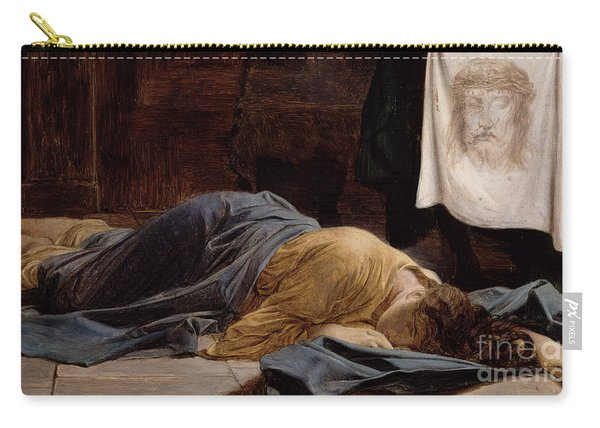 Saint Veronica Carry-all Pouch