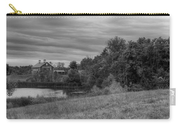 Carry-all Pouch featuring the photograph Salomon Farm In The Fall by Michael Colgate