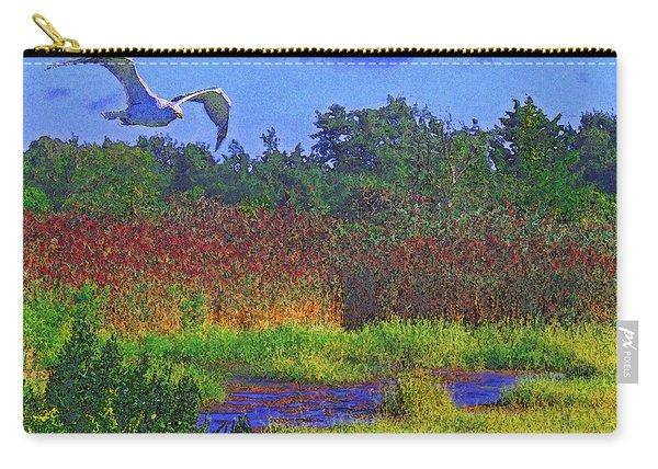 Salt Marsh Gull Carry-all Pouch