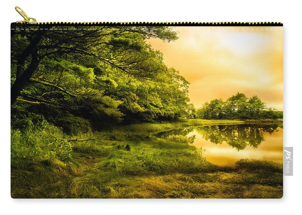 Salt Marsh Kittery Maine Carry-all Pouch