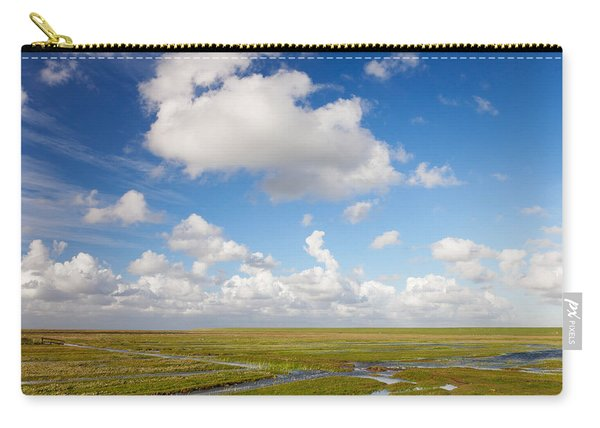 Salt Meadow At Westerhever, Eiderstedt Carry-all Pouch