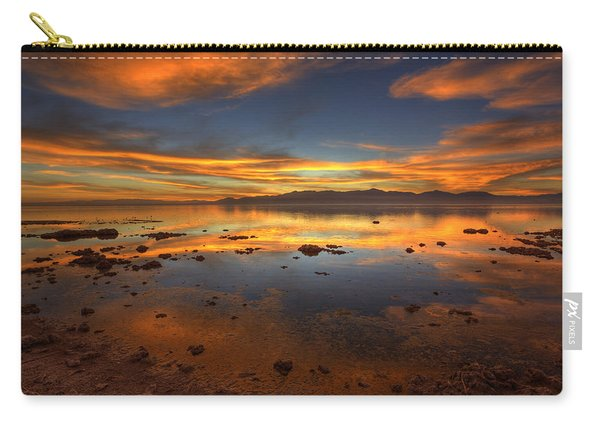Salton Sea Color Carry-all Pouch