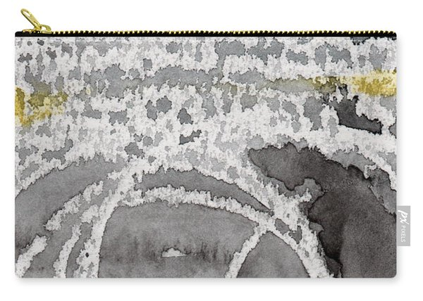 Saltwater- Abstract Painting Carry-all Pouch