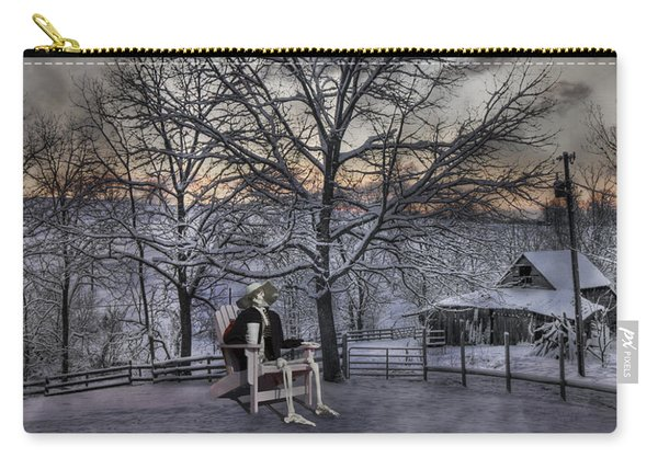 Sam Visits Winter Wonderland Carry-all Pouch