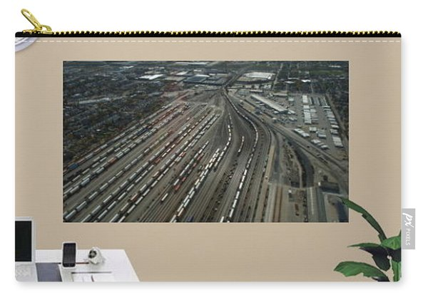 Sample Wall Graphics Chicago Transportation 02 Carry-all Pouch