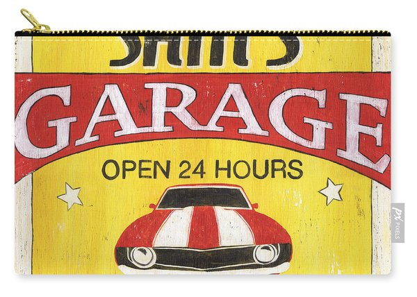 Sam's Garage Carry-all Pouch