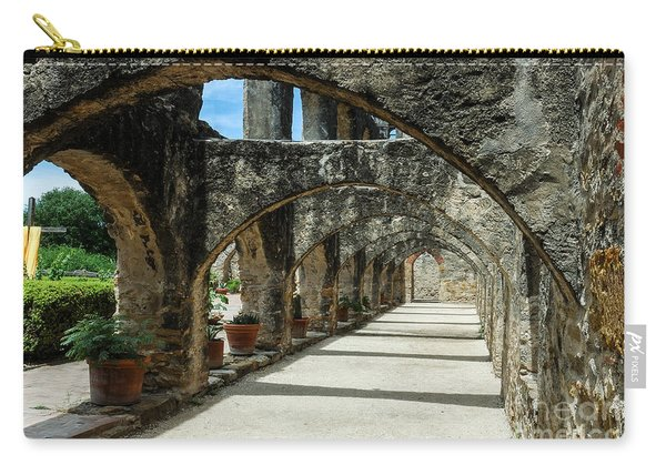 San Antonio Mission Arches Carry-all Pouch