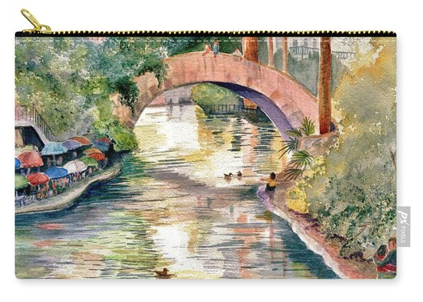 San Antonio Riverwalk Carry-all Pouch