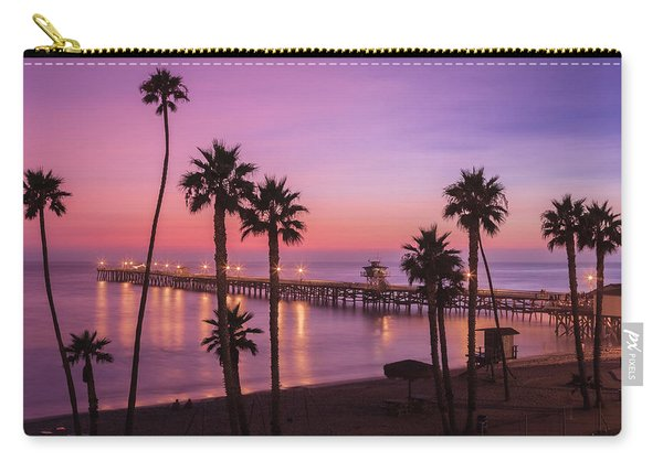San Clemente Sunset Meditation Carry-all Pouch
