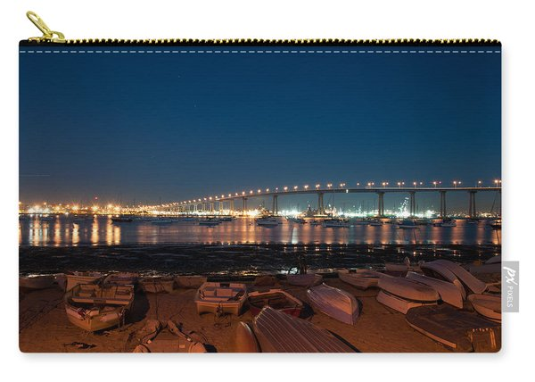 San Diego Bridge  Carry-all Pouch