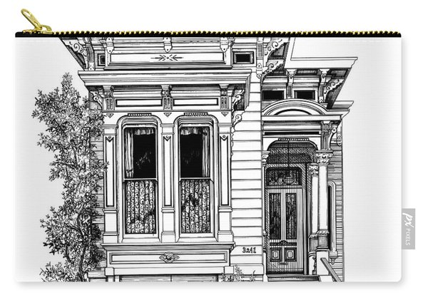 San Fracisco Victorian2 Carry-all Pouch