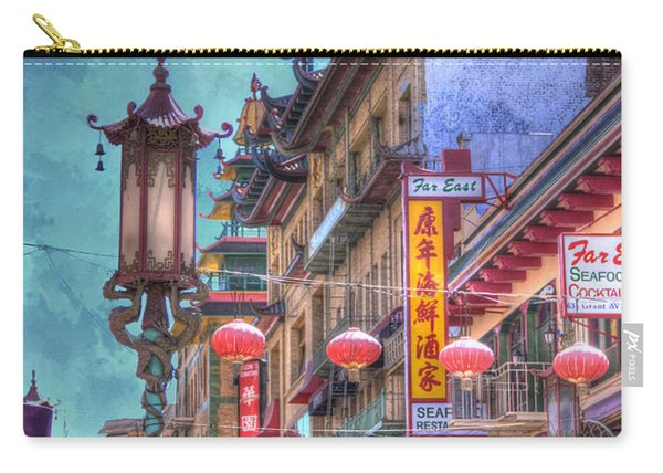 San Francisco Chinatown Carry-all Pouch