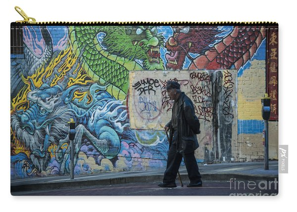 San Francisco Chinatown Street Art Carry-all Pouch