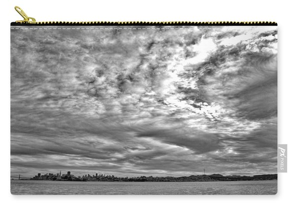 San Francisco Clouds Carry-all Pouch