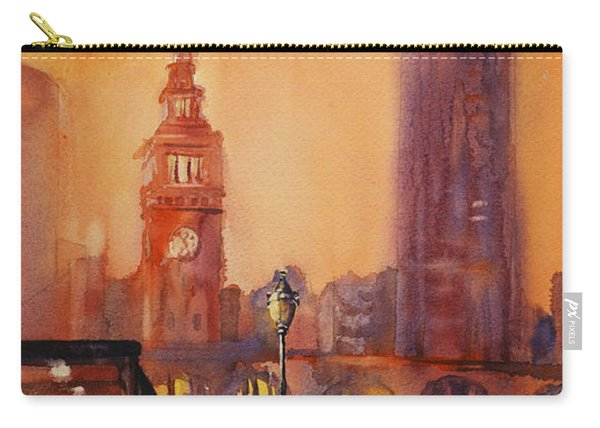 San Francisco Harbor Painting Carry-all Pouch