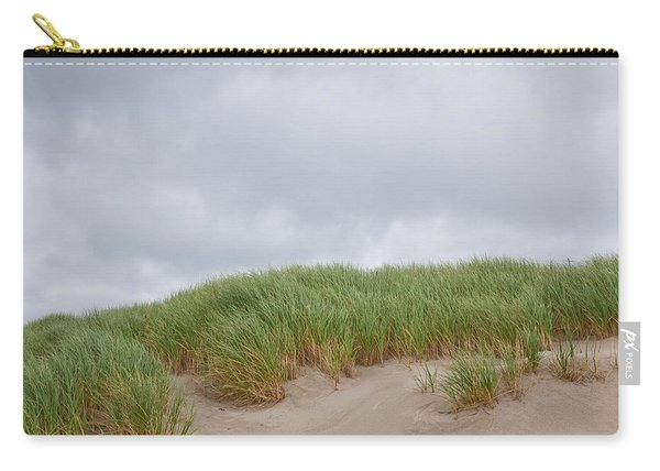 Sand Dunes And Grass Carry-all Pouch