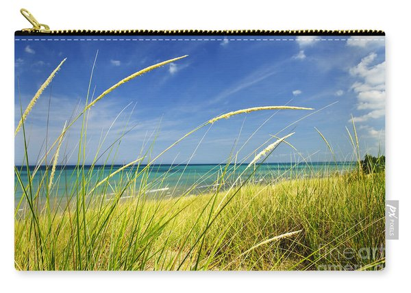 Sand Dunes At Beach Carry-all Pouch