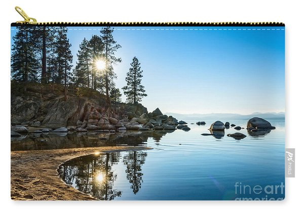 Sand Harbor Cove Carry-all Pouch