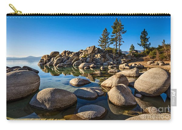 Sand Harbor Rock Garden Carry-all Pouch