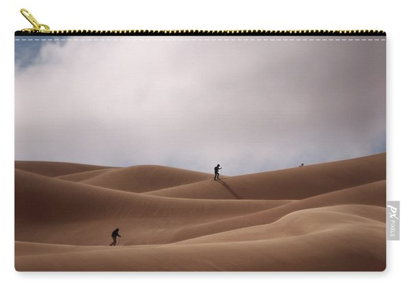 Sand Skiing Carry-all Pouch