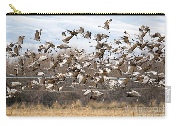 Sandhill Crane Explosion Carry-all Pouch