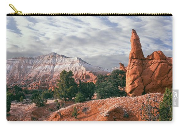 Sandstone Rock Formations, Kodachrome Carry-all Pouch