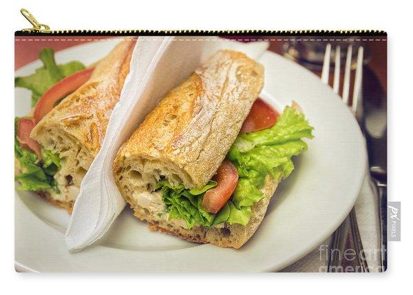 Sandwish On Table Carry-all Pouch