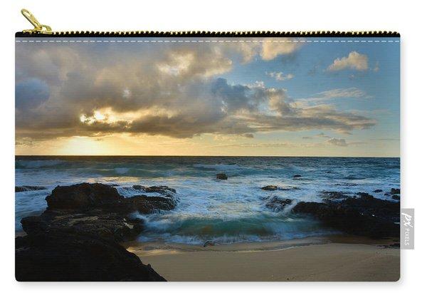 Sandy Beach Sunrise 5 - Oahu Hawaii Carry-all Pouch
