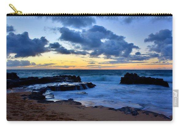 Sandy Beach Sunrise 6 - Oahu Hawaii Carry-all Pouch