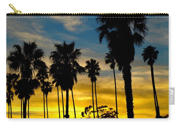 Santa Barbara Sunset Carry-all Pouch