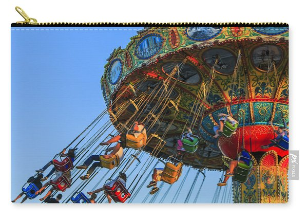 Santa Cruz Seaswing At Sunset 5 Carry-all Pouch