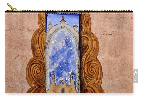 Santa Fe Door Mural Carry-all Pouch