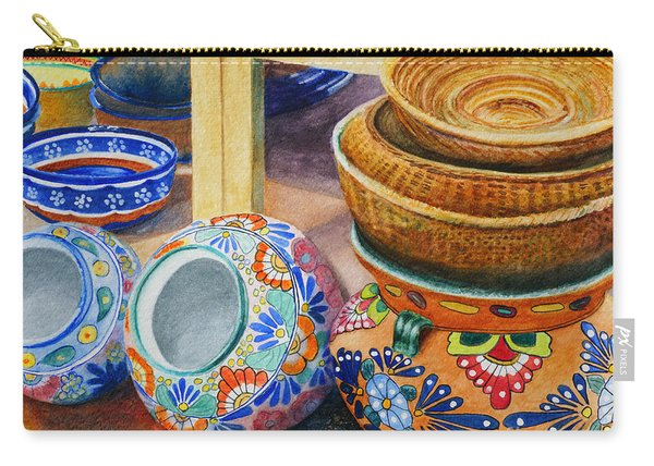 Santa Fe Hold 'em Pots And Baskets Carry-all Pouch