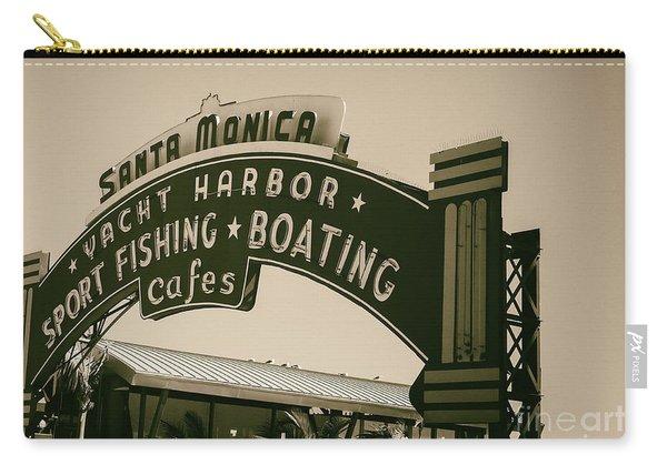 Santa Monica Pier Sign Carry-all Pouch