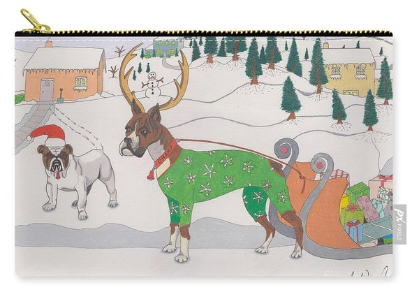 Santas Helpers Carry-all Pouch