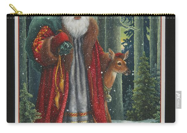 Santa's Journey Carry-all Pouch
