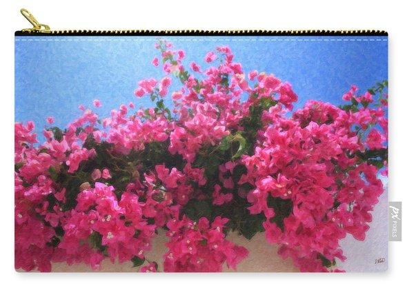 Santorini Flowers Grk1113 Carry-all Pouch