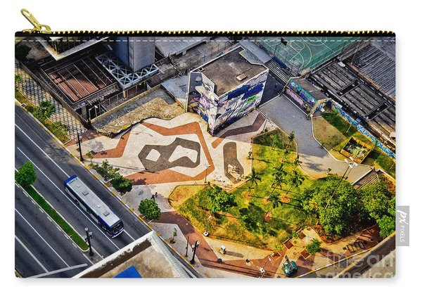 Sao Paulo Downtown - Geometry Of Public Spaces Carry-all Pouch
