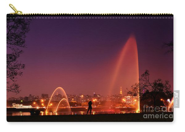 Sao Paulo - Ibirapuera Park At Dusk - Contemplation Carry-all Pouch