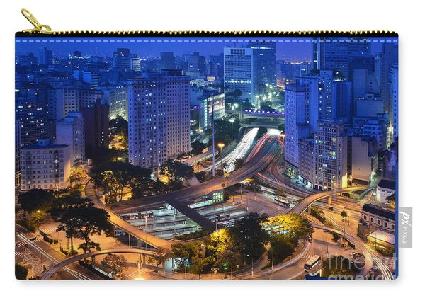 Sao Paulo Skyline - Downtown Carry-all Pouch