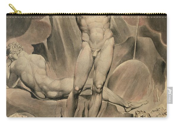 Satan Arousing The Rebel Angels, 1808 Carry-all Pouch