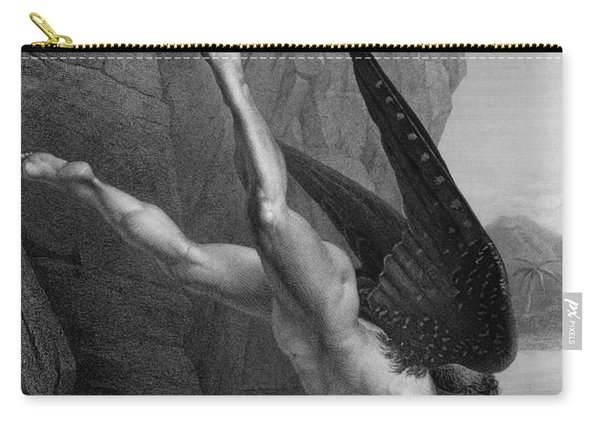 Satan Plunges Into The River Styx Carry-all Pouch